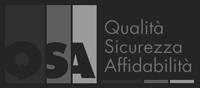 Logo certificazione QSA, qualità, sicurezza, affidabilità